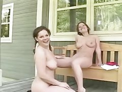 Seductive outdoor pussy..