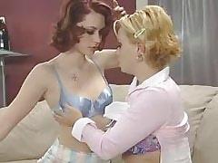 Blond lezzie gets licked.Lesbian milf sex!