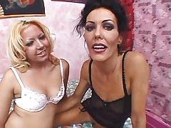 Brunette mature seduces..