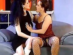Lewd lesbian spoils innocent teenie.Lesbian milf sex!