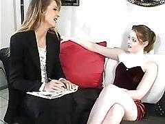 Lesbian mom spoils amateur..