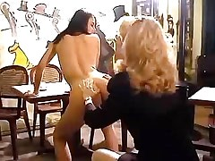 Lewd sluts lesbians lick each other.Lesbian milf sex!