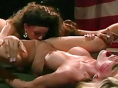 Army lesbian licking pussy..