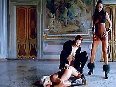 Lesbian mistresses spoil..