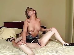 Hot blonde lesbians lick in..