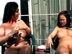 Mature lesbian licking fresh pussy.Busty Girls.BBW Girl.Lesbian Mature ang Girl!