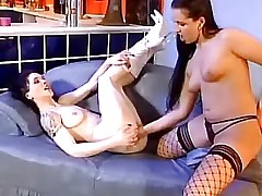 Lesbian gets fast and deep fisting.Fetish Lesbian Stories.Hot Latina Lesbian!