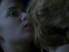 Girl kissing girl