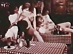 Vintage Lesbian Orgy