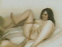 Horny Fat Chubby Lesbian Friends licking each other's Pussy