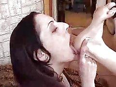 Tatiana & Dhelia Foot Fetish Part 4