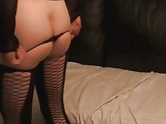 ass in sexy string....