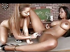 Sexy Ebony Lesbians 50 By twistedworlds