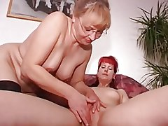 Lesbian Threesome xxx video