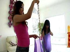 Mya Luanna & Lana Croft:..