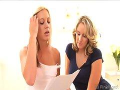 Kacey Villainess & Cassidy Blue - V2: Blonde Lesbian