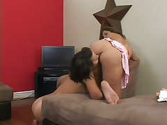 Chrissy moon in lesbian pov action