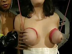 Dominatrix causes an involuntary orgasm
