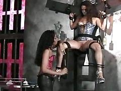 Girl tortured by lesbian mistress.Fetish Lesbian Stories!
