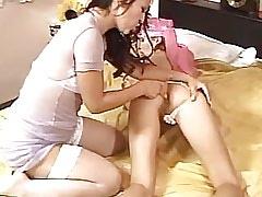 .Lesbian Mature ang Girl!