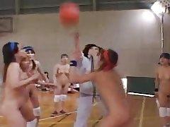 Lesbian Asian playing..