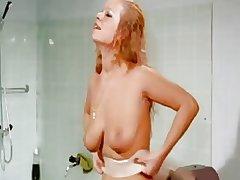 Girls enjoy vintage massager..