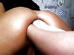 Double Anal Fisting on Webcam