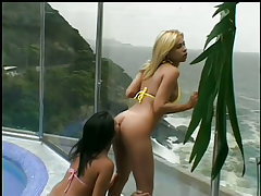 Horny brazili babes in..